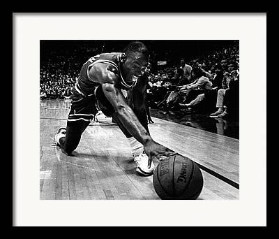 Basketball Shoes Framed Prints
