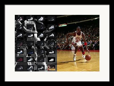 Michael Jordan Photographs Framed Prints