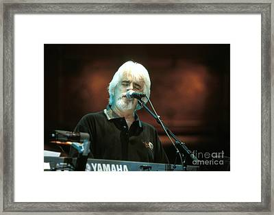Michael Mcdonald Framed Print by Concert Photos