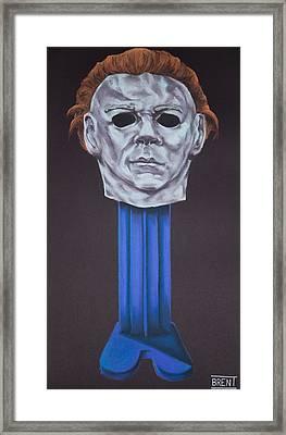 Michael Myers  Framed Print