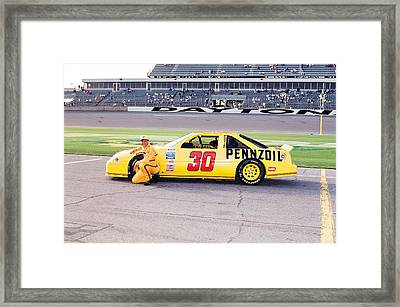 Michael Waltrip Framed Print by Retro Images Archive