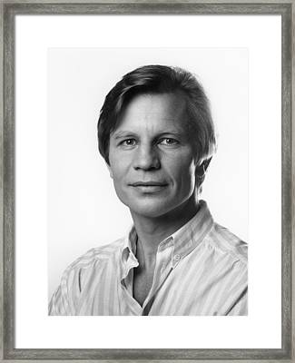 Framed Print featuring the photograph Michael York by Mark Greenberg