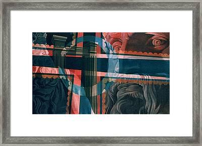 Michaelangelo's Moses 1967 Framed Print by Glenn Bautista