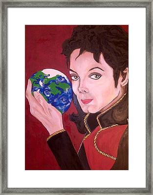 Michael's World Framed Print by Lorinda Fore