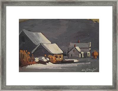 Michalski Farm Framed Print