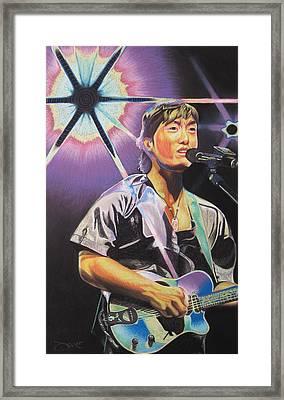 Micheal Kang Framed Print by Joshua Morton