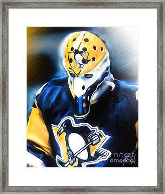 Michel Dion Framed Print by Mike Oulton