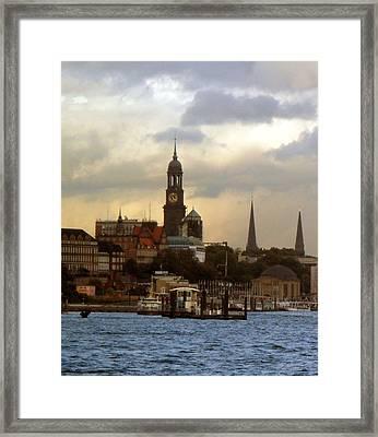 Michel Framed Print by Peter Norden