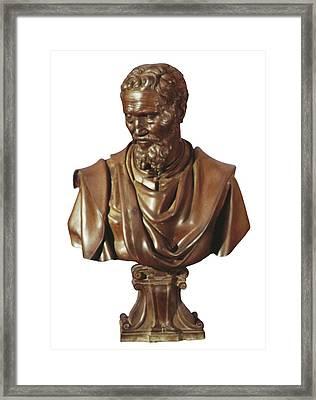 Michelangelo 1475-1564. Italian Framed Print by Everett
