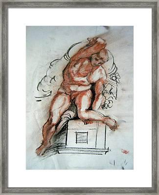 Michelangelo Study Framed Print