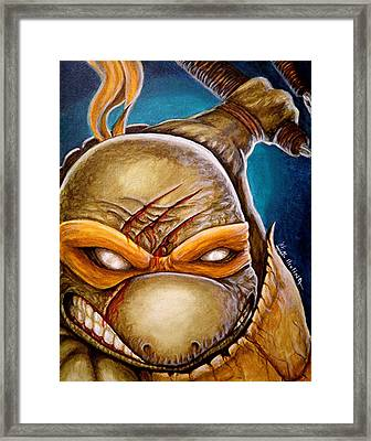 Michelangelo Unleashed Framed Print by Al  Molina