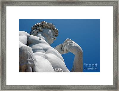 Michelangelos David 2 Framed Print