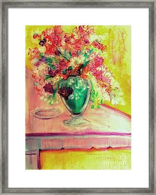 Michelangelo's Vase Framed Print by Helena Bebirian