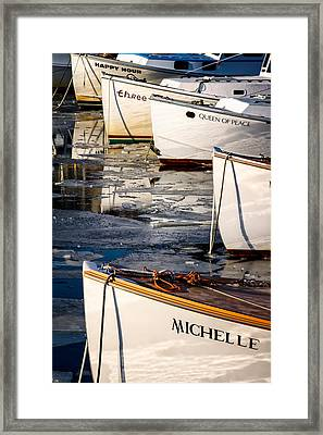 Michelle Framed Print by Jeff Sinon