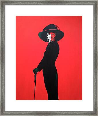 Michelle Obama Framed Print