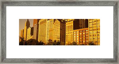 Michigan Avenue Architecture, Chicago Framed Print by Panoramic Images