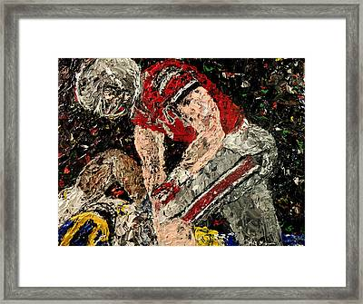 Michigan Defeated By Ohio State  Framed Print