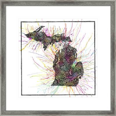 Michigan Framed Print by Kalie Hoodhood