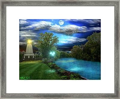 Michigan Memorial Park Framed Print by Michael Rucker