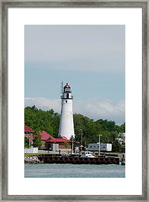 Michigan, Port Huron, St Framed Print