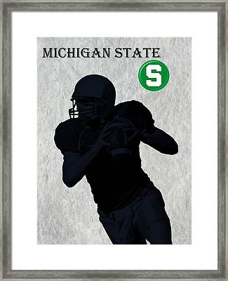 Michigan State Football Framed Print by David Dehner