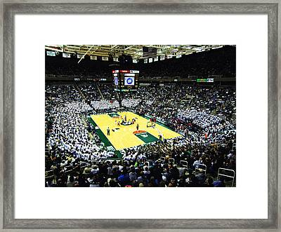 Michigan State Spartans Jack Breslin Student Events Center Framed Print by Replay Photos