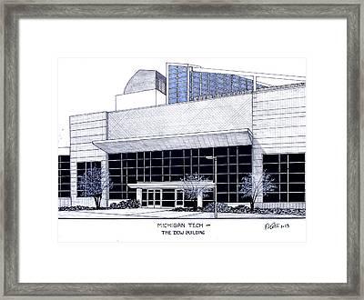 Michigan Tech Framed Print by Frederic Kohli