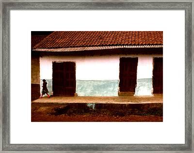 Michoacan Senorita Framed Print