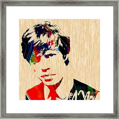 Mick Jagger 1964 Framed Print by Marvin Blaine