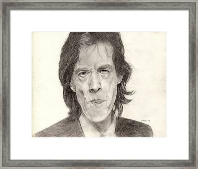 Mick Jagger 2 Framed Print