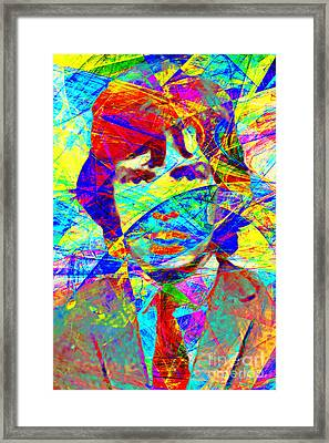 Mick Jagger 20130613 Framed Print by Wingsdomain Art and Photography
