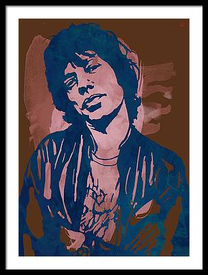 Rock And Roll Music The Rolling Stones Framed Prints