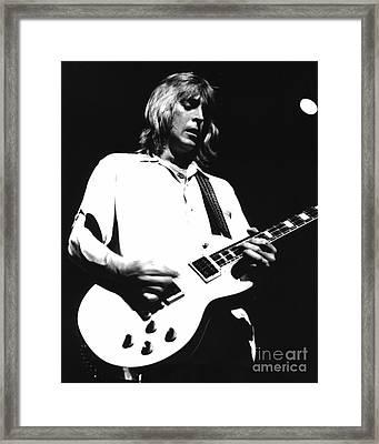 Mick Ronson 1980 Framed Print by Joyce Weir