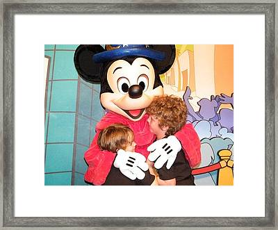 Mickey Love Framed Print