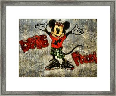 Mickey Of 11 Framed Print by Travis Hadley