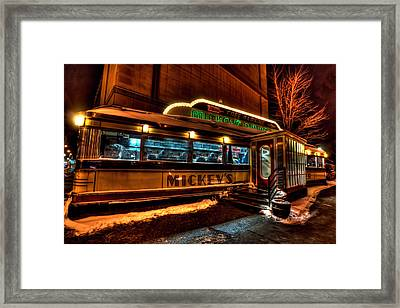 Mickey's Diner St Paul Framed Print by Amanda Stadther