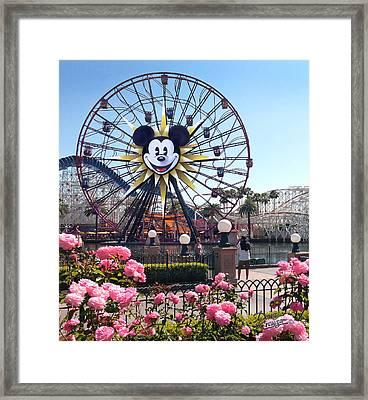 Mickey's Fun Wheel Framed Print by Doug Kreuger