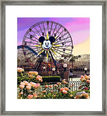 Mickey's Fun Wheel II Framed Print by Doug Kreuger