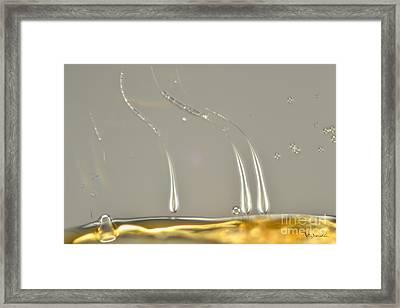Micro Art Beer 9 Framed Print by Vin Kitayama