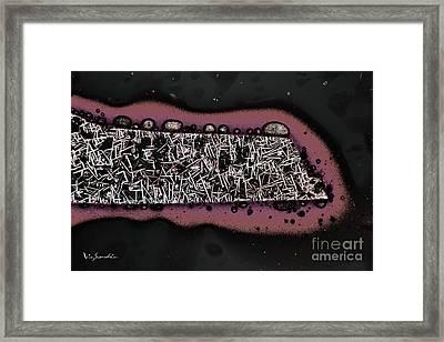 Micro Art Coffee City 1 Framed Print by Vin Kitayama