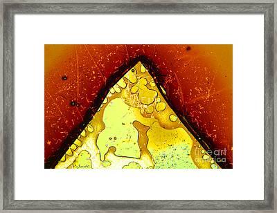 Micro Art Coffee Japanese 3 Framed Print by Vin Kitayama
