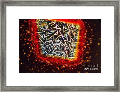 Micro Art Coffee Solution 1 Framed Print by Vin Kitayama