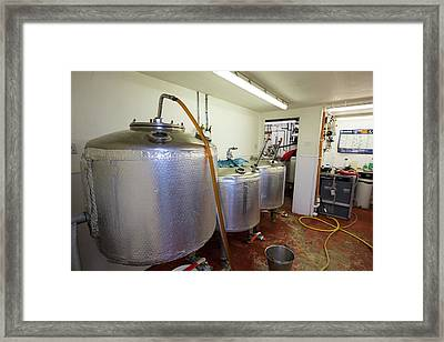 Micro Brewery Framed Print