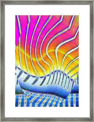 Micro Linear 30 Framed Print by Will Borden
