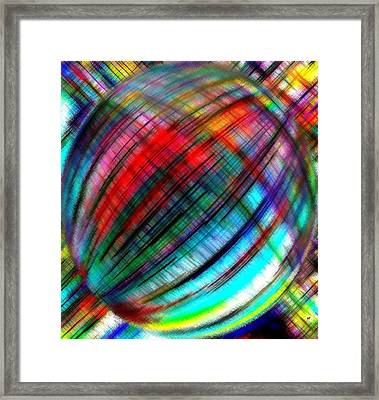Micro Linear 31 Framed Print