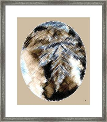 Micro Linear 32 Framed Print by Will Borden