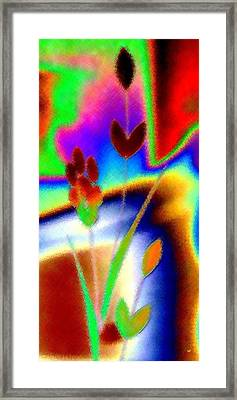 Micro Linear 37 Framed Print