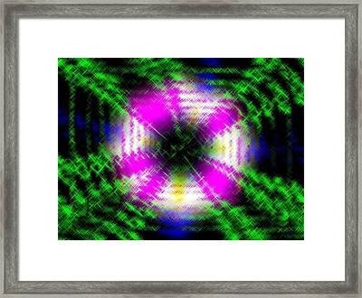Micro Linear 42 Framed Print by Will Borden