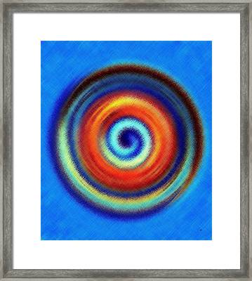Micro Linear 44 Framed Print by Will Borden
