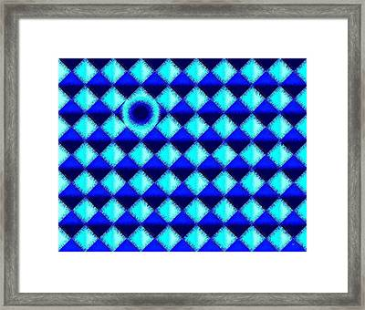 Micro Linear 45 Framed Print by Will Borden